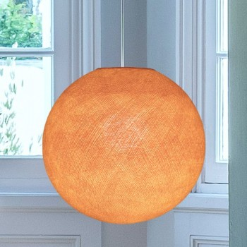 Lampenschirme Einzeln Globus Hellorange - Lampenschirm globus - La Case de Cousin Paul