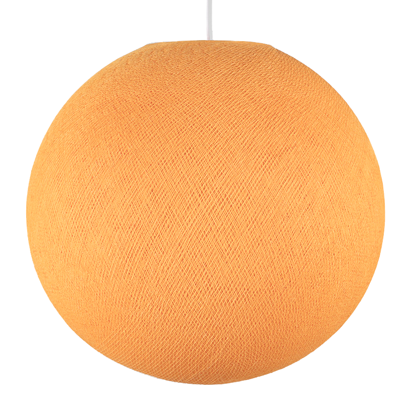 light orange - Lampshades globe - La Case de Cousin Paul
