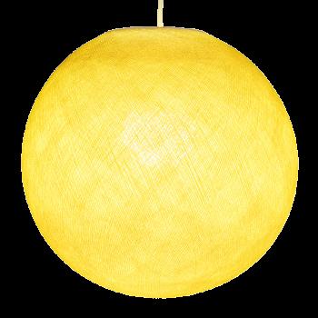 Lampenschirme Einzeln Globus Gelb - Lampenschirm globus - La Case de Cousin Paul