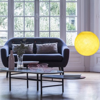 yellow - Lampshades globe - La Case de Cousin Paul