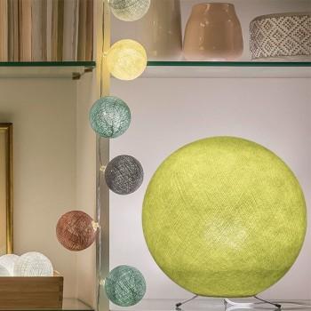 Lampenschirme Einzeln Globus Anisgrün - Lampenschirm Globus - La Case de Cousin Paul
