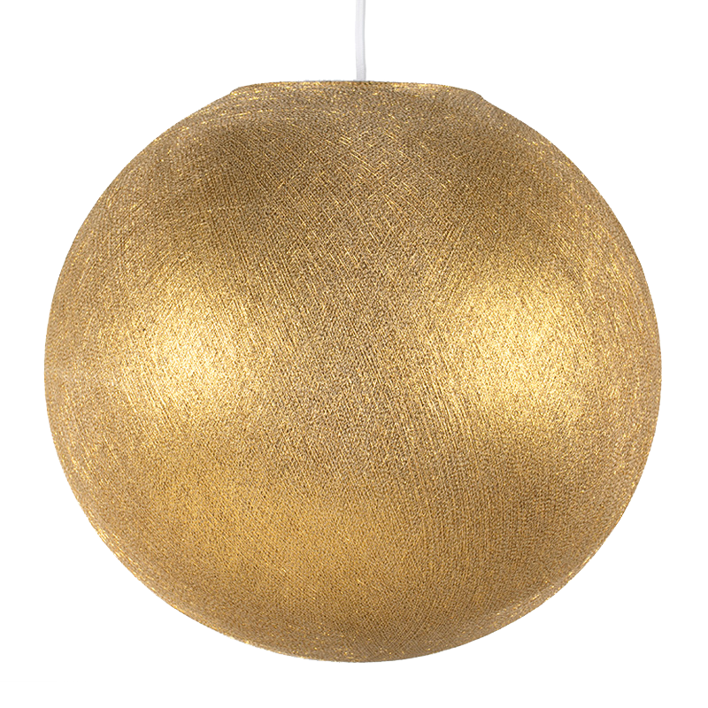 goud - Lampenkappen Los ballampen - La Case de Cousin Paul