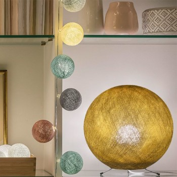 gold - Lampshades globe - La Case de Cousin Paul