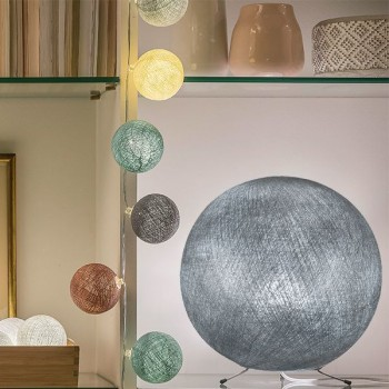argento - Coprilampada sfere - La Case de Cousin Paul