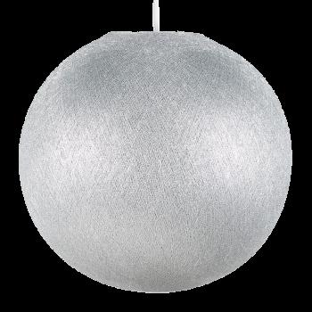 Lampenschirme Einzeln Globus Silber - Lampenschirm globus - La Case de Cousin Paul