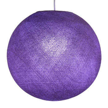 purple - Lampshades globe - La Case de Cousin Paul