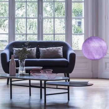 light purple - Lampshades globe - La Case de Cousin Paul