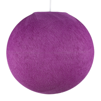 Globe violet cardinal éteint