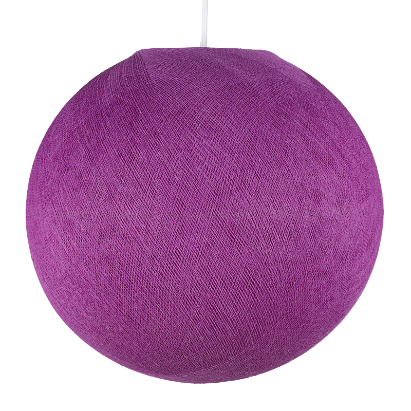 kardinalviolett - Lampenschirm globus - La Case de Cousin Paul