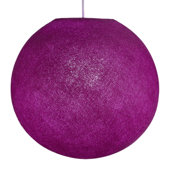 Globe violet cardinal allumé