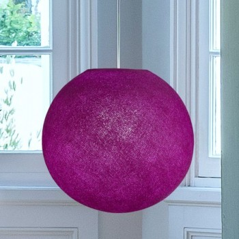 cardinal purple - Lampshades globe - La Case de Cousin Paul