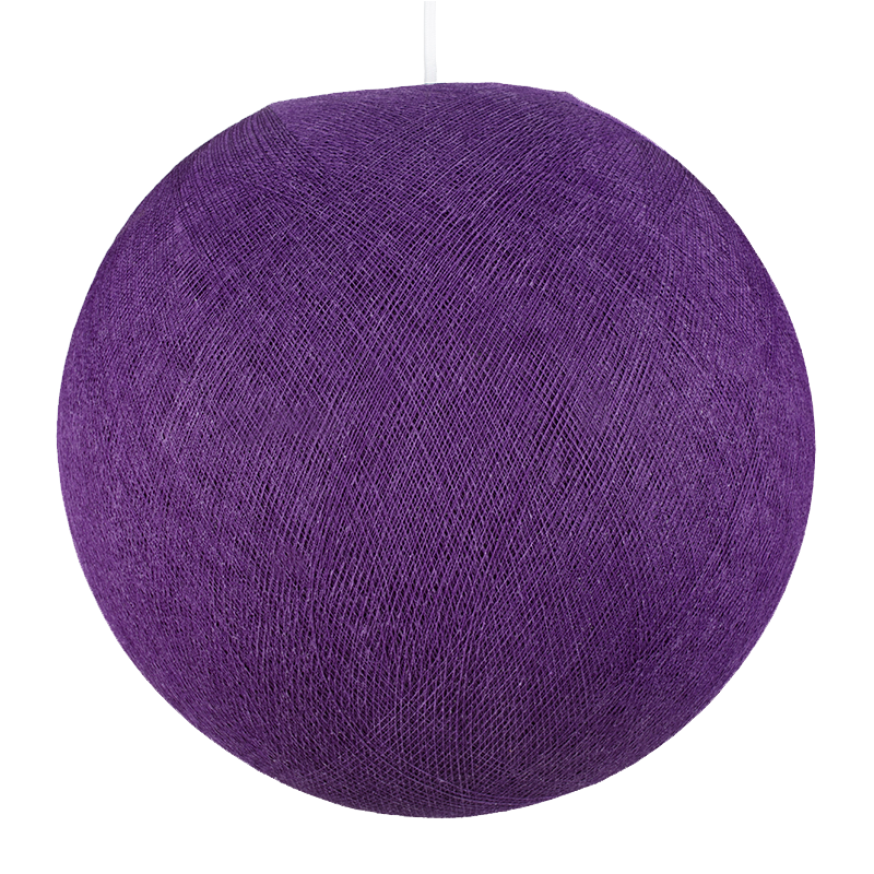 malva oscuro - Pantallas Individuales globos - La Case de Cousin Paul