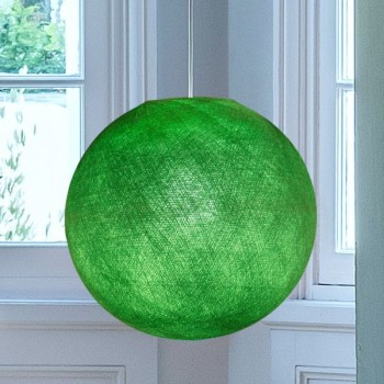 Globe vert flash - Abat-jour globe - La Case de Cousin Paul