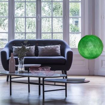 Lampenschirme Einzeln Globus Knallgrün - Lampenschirm globus - La Case de Cousin Paul