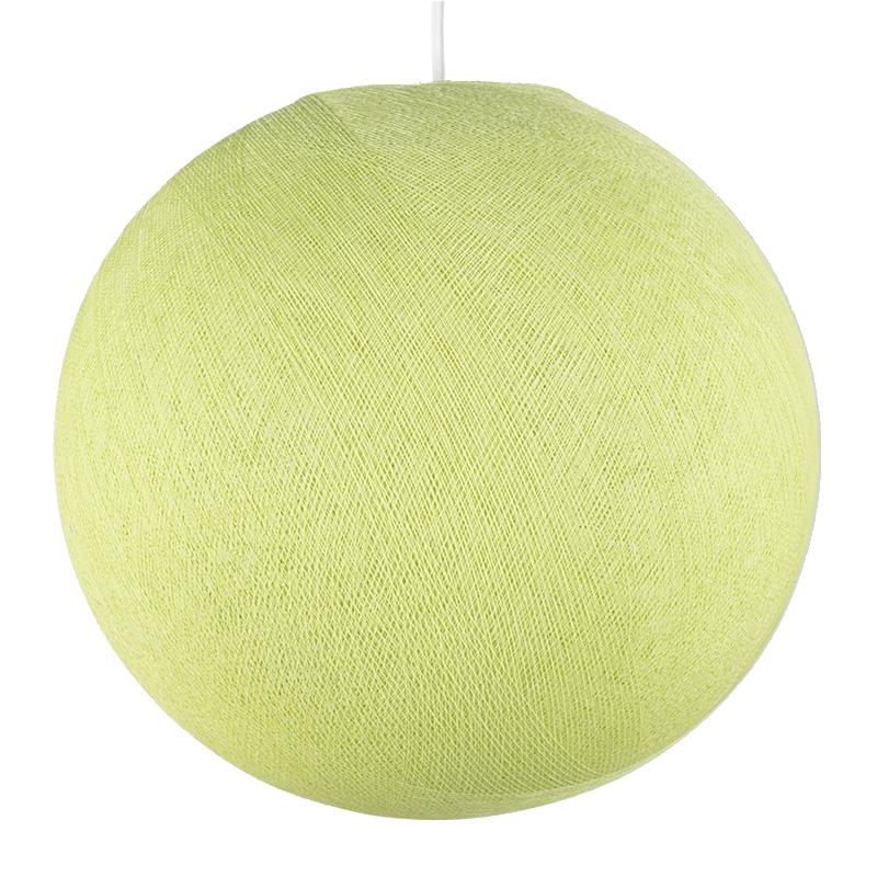 Globe vert amande - Abat-jour globe - La Case de Cousin Paul