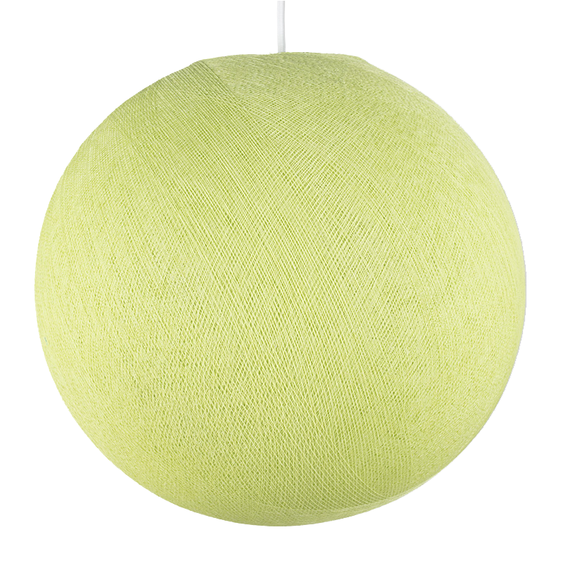 almond green - Lampshades globe - La Case de Cousin Paul