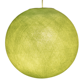 Globe vert amande éteint