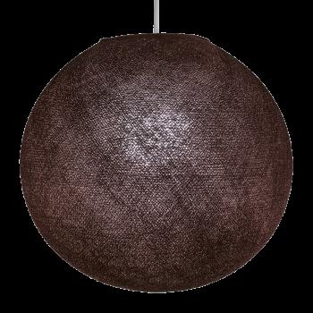 Globe chocolat allumé