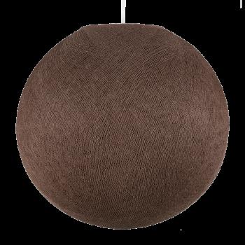 Lampenschirme Einzeln Globus Glanzbraun - Lampenschirm globus - La Case de Cousin Paul