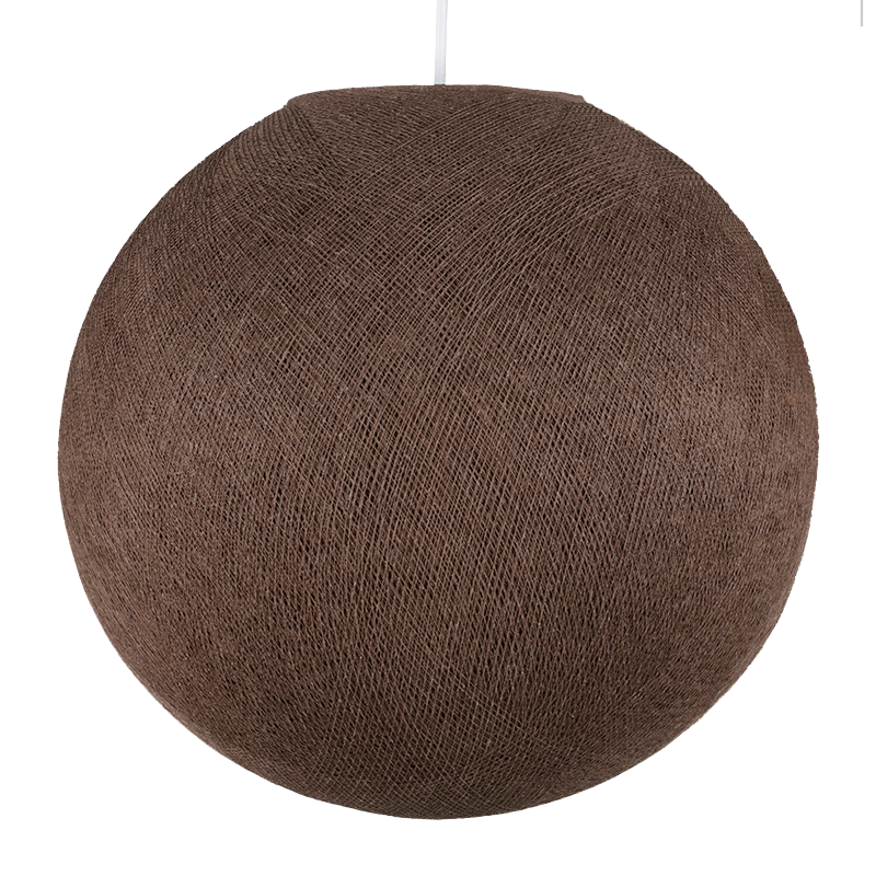 chestnut - Lampshades globe - La Case de Cousin Paul