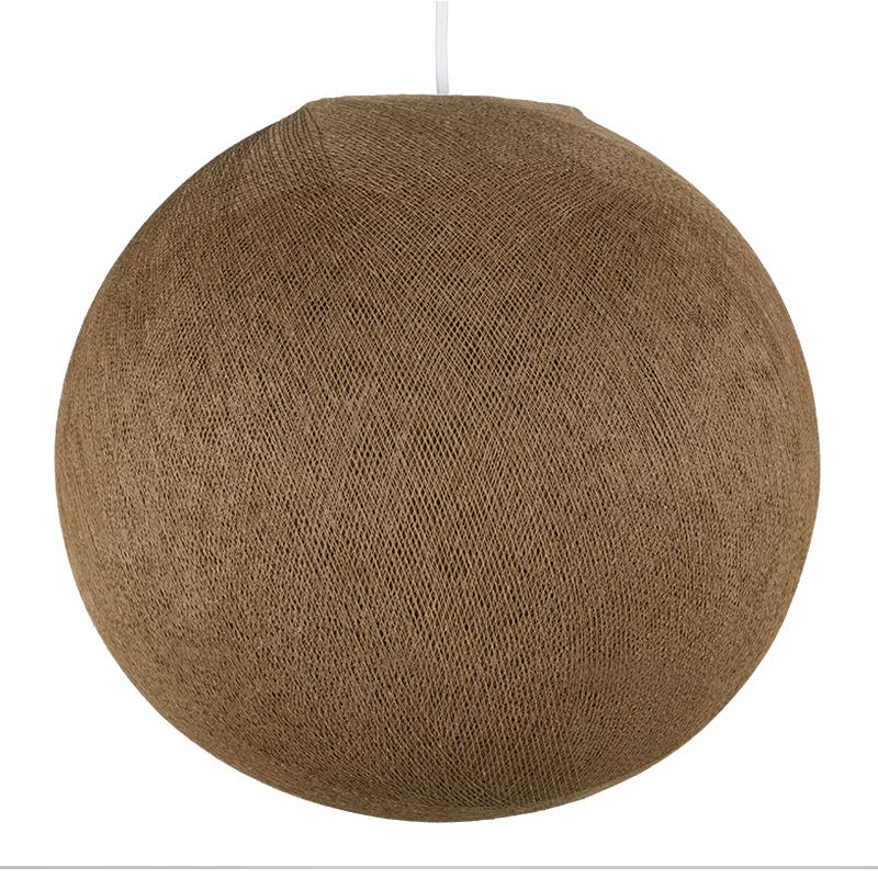 Lampenschirme Einzeln Globus Maulwurfgrau - Lampenschirm globus - La Case de Cousin Paul