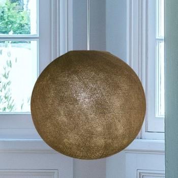 moleskin - Lampshades globe - La Case de Cousin Paul