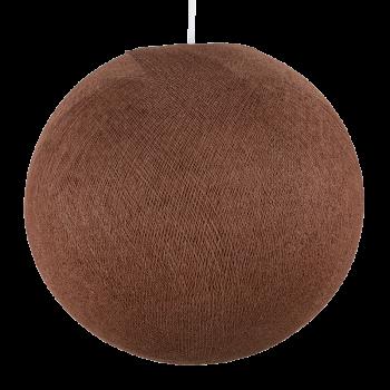 Globe marron cuivré - Abat-jour globe - La Case de Cousin Paul