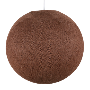 cuoio - Coprilampada sfere - La Case de Cousin Paul
