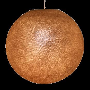 Globe caramel allumé