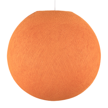 Globe orange - Abat-jour globe - La Case de Cousin Paul