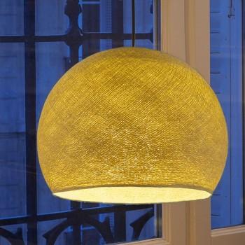 mustard - Lampshades cupolas - La Case de Cousin Paul