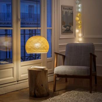 mosterd - Lampenkappen Los koepellampen - La Case de Cousin Paul