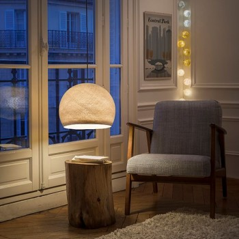 sable - Lampshades cupolas - La Case de Cousin Paul