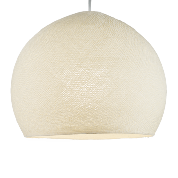 ivory - Lampshades cupolas - La Case de Cousin Paul
