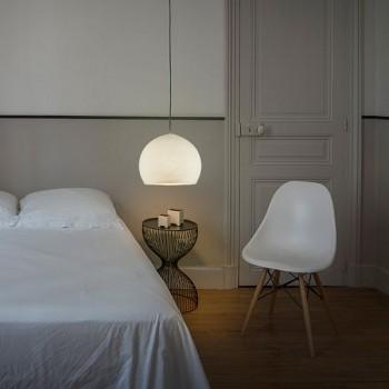 Lampenschirme Einzeln Kuppeln Elfenbein - Lampenschirm kuppeln - La Case de Cousin Paul