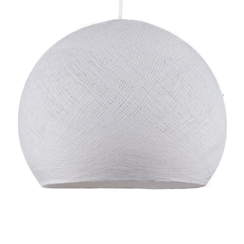 white - Lampshades cupolas - La Case de Cousin Paul