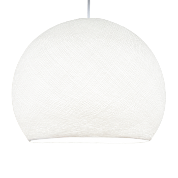 white - Lampshades cupolas - La Case de Cousin Paul
