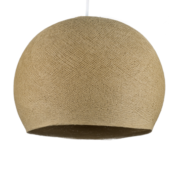 sisal - Lampenschirm kuppeln - La Case de Cousin Paul