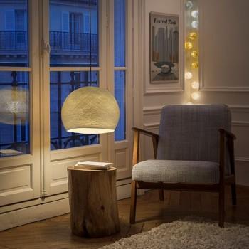 Lampenschirme Einzeln Kuppeln Sisal - Lampenschirm kuppeln - La Case de Cousin Paul