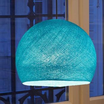 Lampenschirme Einzeln Kuppeln Türkis - Lampenschirm kuppeln - La Case de Cousin Paul