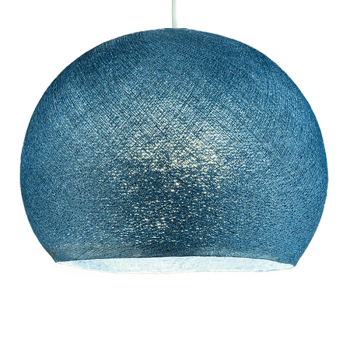 Lampenschirme Einzeln Kuppeln Entenblau - Lampenschirm kuppeln - La Case de Cousin Paul