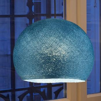 eendenblauw - Lampenkappen Los koepellampen - La Case de Cousin Paul