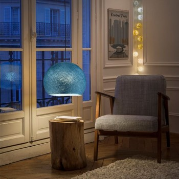 duck blue - Lampshades cupolas - La Case de Cousin Paul