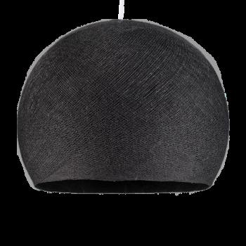 anthrazitgrau - Lampenschirm kuppeln - La Case de Cousin Paul