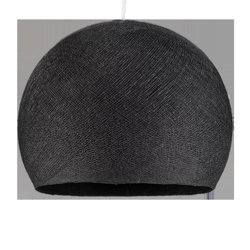 Lampenschirme Einzeln Kuppeln Anthrazitgrau - Lampenschirm kuppeln - La Case de Cousin Paul