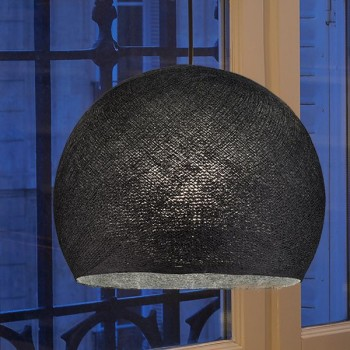 anthracite - Lampshades cupolas - La Case de Cousin Paul