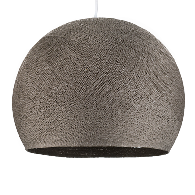 graphite - Lampshades cupolas - La Case de Cousin Paul