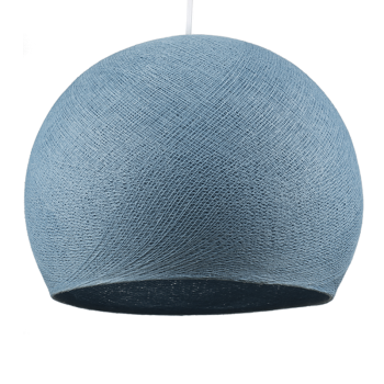 denim - Lampshades cupolas - La Case de Cousin Paul