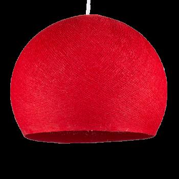 rot - Lampenschirm kuppeln - La Case de Cousin Paul