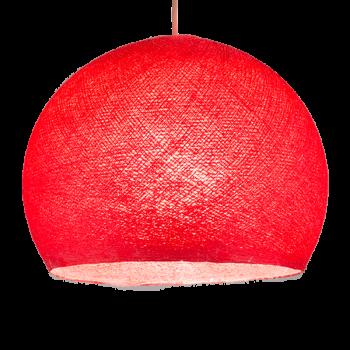 rosso - Coprilampada cupole - La Case de Cousin Paul